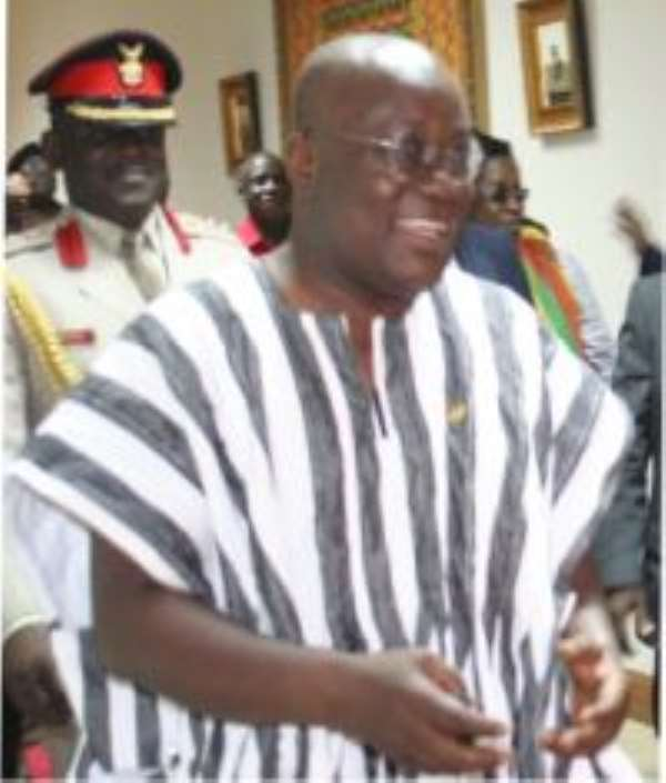 Welcome Back! A Goodwill Message by Nana Akufo-Addo