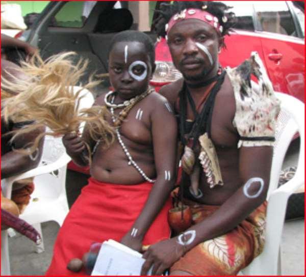 Kaakyire Kwame Appiah and Joe Shortingo