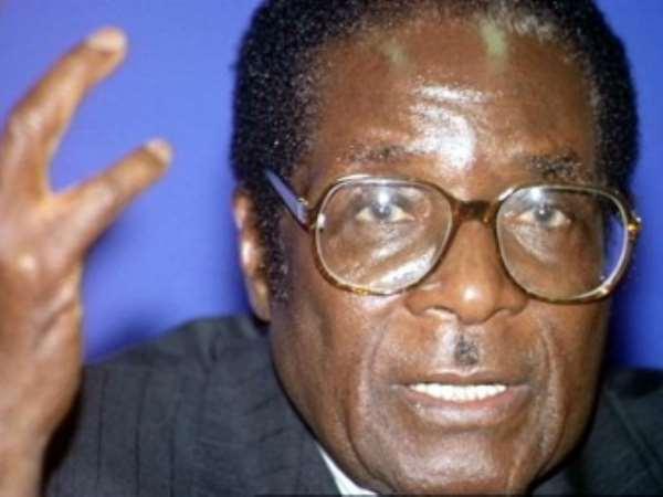 Shame on UK and US say Mugabe.