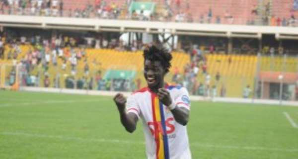 Hearts outcast Issah Mumuni set for Dreams FC return