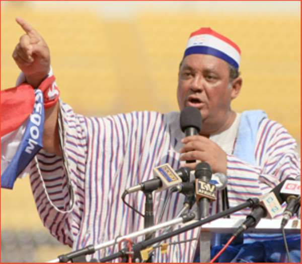 NPP Replies NDC -Most of your feats were initiated by Kufuor