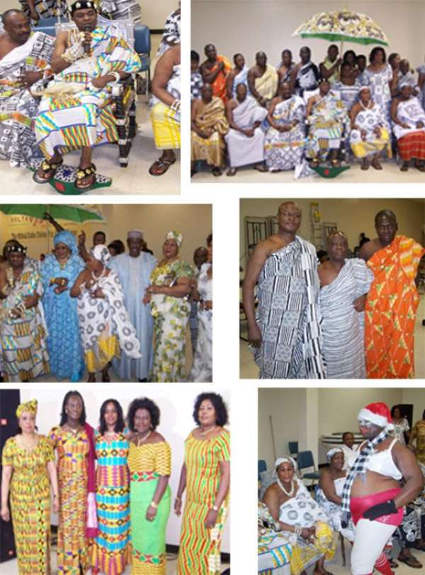 US East Coast Ashantis celebrate Akwasidae