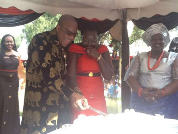 Pastor Anselm Madubuko Holds Traditional Wedding In Kenya (Pictures)