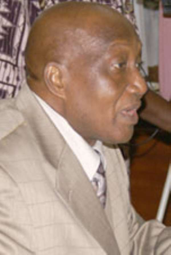 Mr. Kofi Opoku Manu, outgoing Ashanti Regional Minister