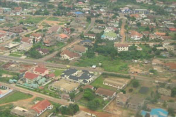 Accra aerial view