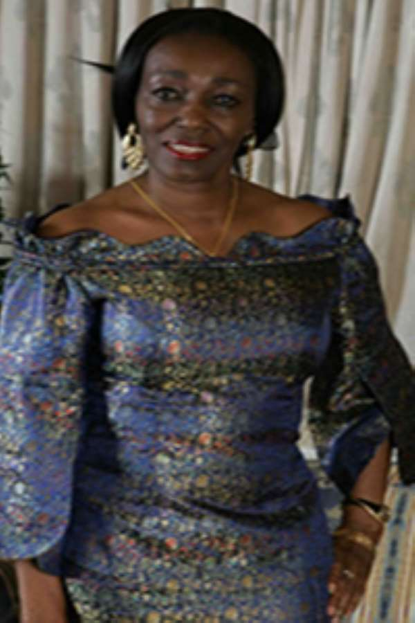 Mrs. Nana Konadu Agyemang Rawlings