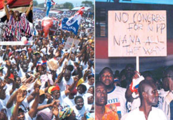 Even before new congress date is announcedKUMASI DECLARES  NANA UNOPPOSED