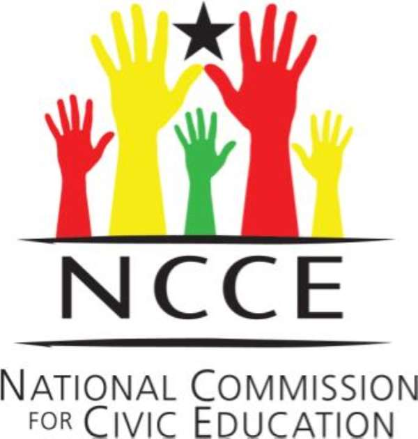 NCCE evaluates Project Citizen in Ghana