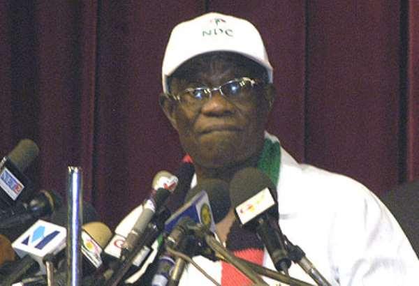 Prof John Evans Atta Mills, Flag Bearer of the National Democratic Congress (NDC)