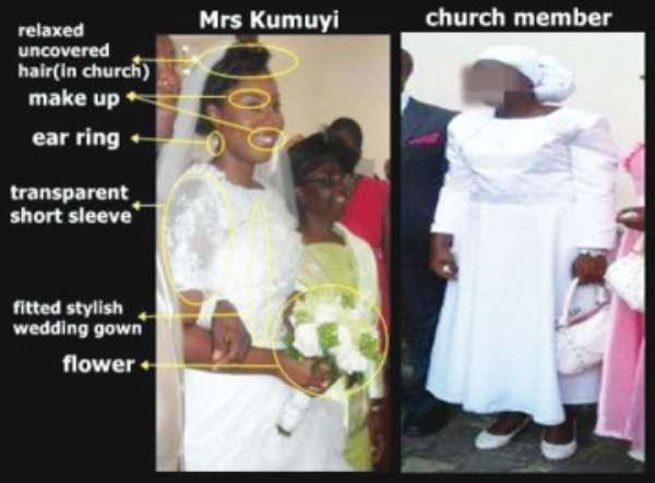 Pastor Kumuyi's Son Apologizes For Allowing His Wife Wear Sexy Clothes