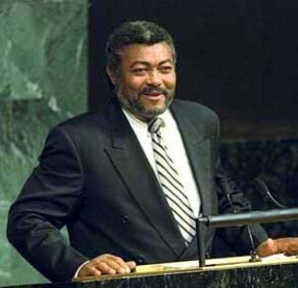 Ex-President Rawlings' Goodwill Message