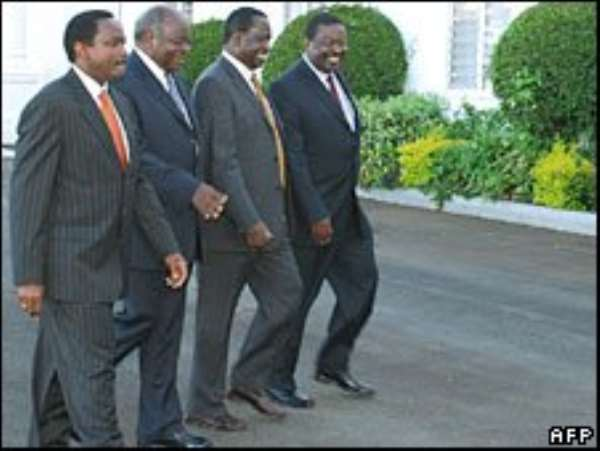 Kenya cabinet to learn the ropes