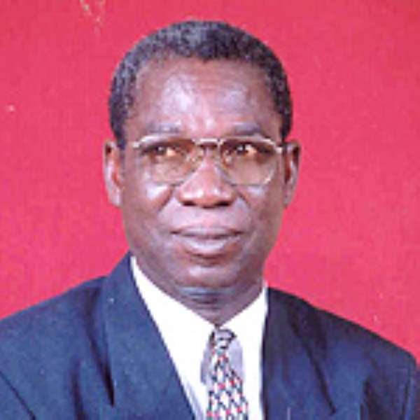 Mr Ernest Debrah, Minister for Food and Agriculture