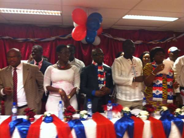 NPP KICKS OF EUROPE CAMPAIGN IN THE HAGUE