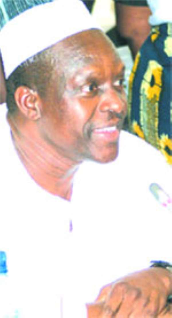 Mr. Alban Bagbin, Minister for Water Resources, Works & Housing