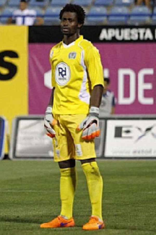 Ghana goalie Razak Braimah