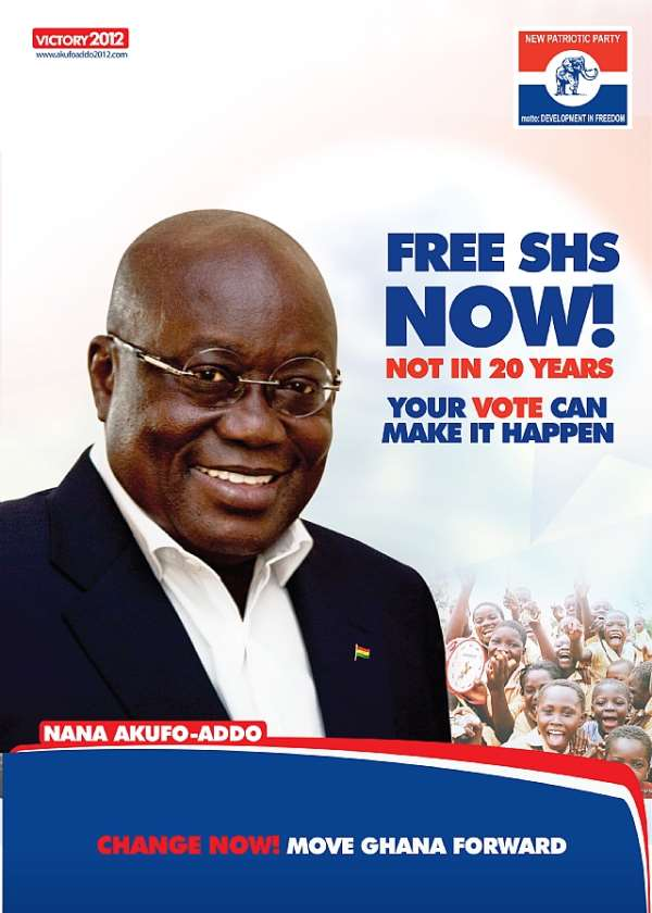 NPP's Free SHS Education Policy: A Weapon Of Mass Destruction