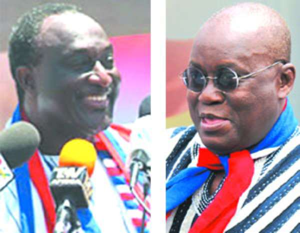 Akufo-Addo ahead of Alan … Campaign team hums