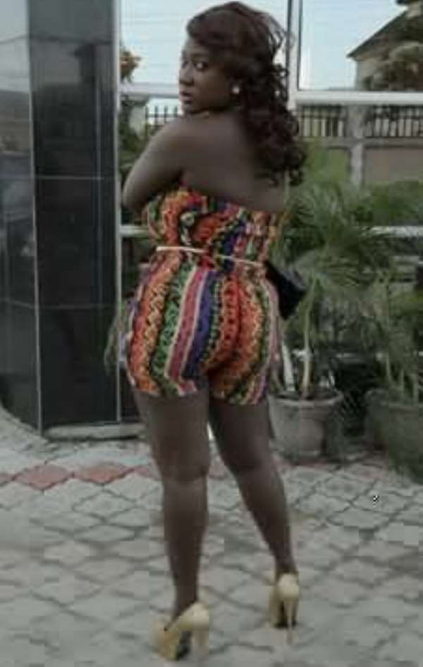 Mercy Johnson's Behind: Offside Or Not? (Picture)