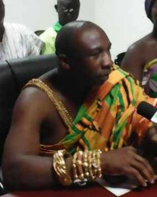 Sumahene confers honours on Ex President Kuffuor, President Mahama and Chief Justice