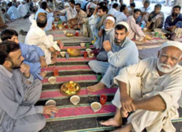 The concept of fasting in Islam