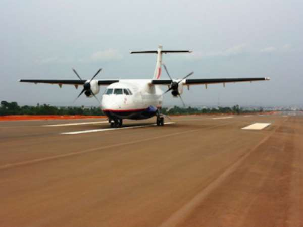 Test Flight Lands At New Asaba International Airport, Delta