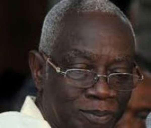 Chairman of the EC, Dr Kwadwo Afari-Gyan
