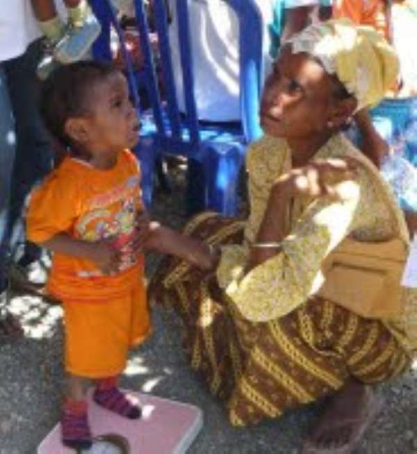 Integrated community health services in Timor-Leste
