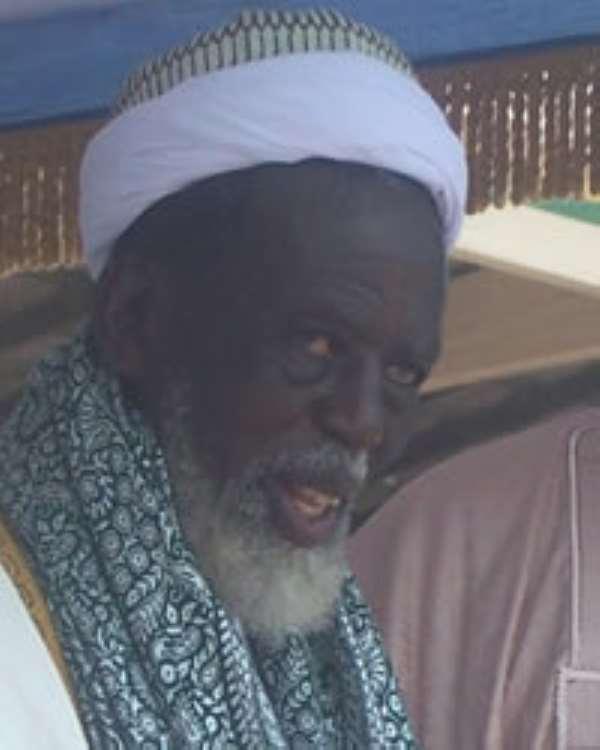 National Chief Imam Sheikh Nunu Sharabutu