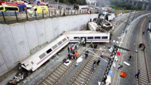 Over 77 Dead In Spain Train Crash