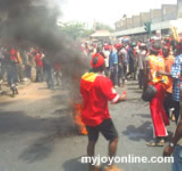 NDC footsoldiers chase out 2 DCEs