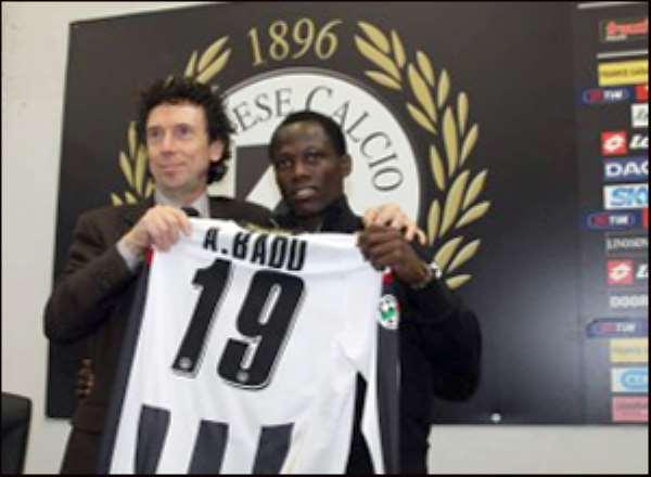 Unveiling of Agyemang Badu at Udinese