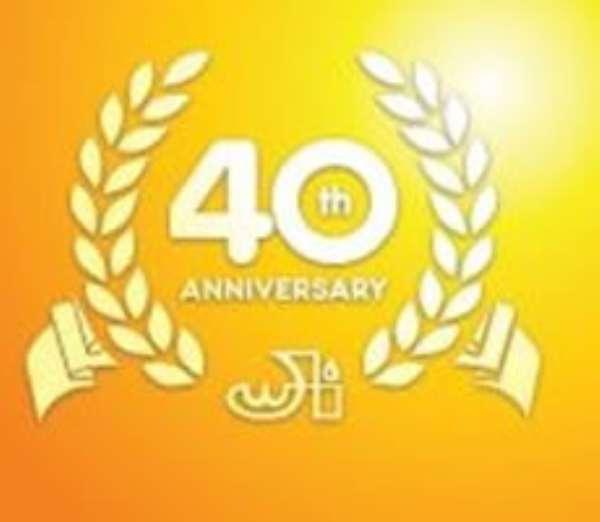 Joyful Way Incorporated celebrate 40th anniversary