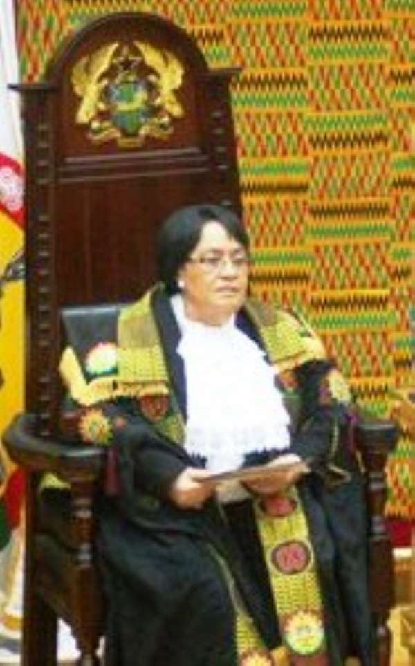 Speaker adjourns Parliament sine die