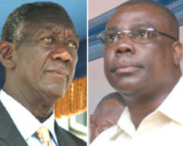 At the NPP NEC meeting today FIREWORKS SET TO BEGIN…As Kufuor plans to torpedo expansion of Electoral College