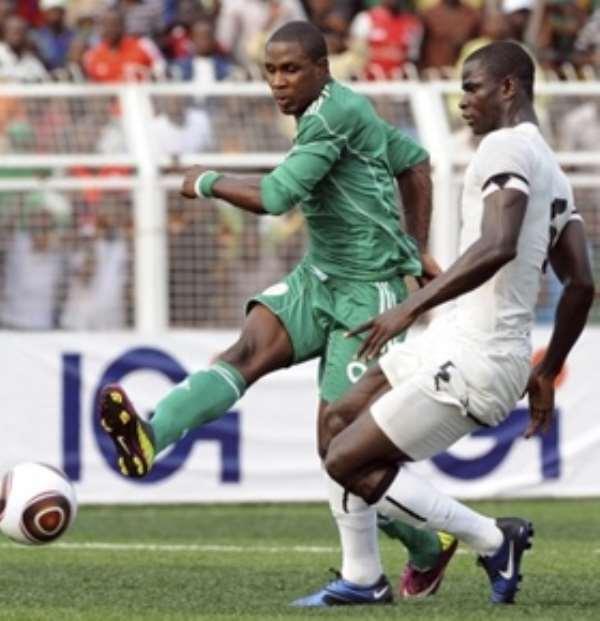 Ugly scenes as Ghana, Nigeria nears