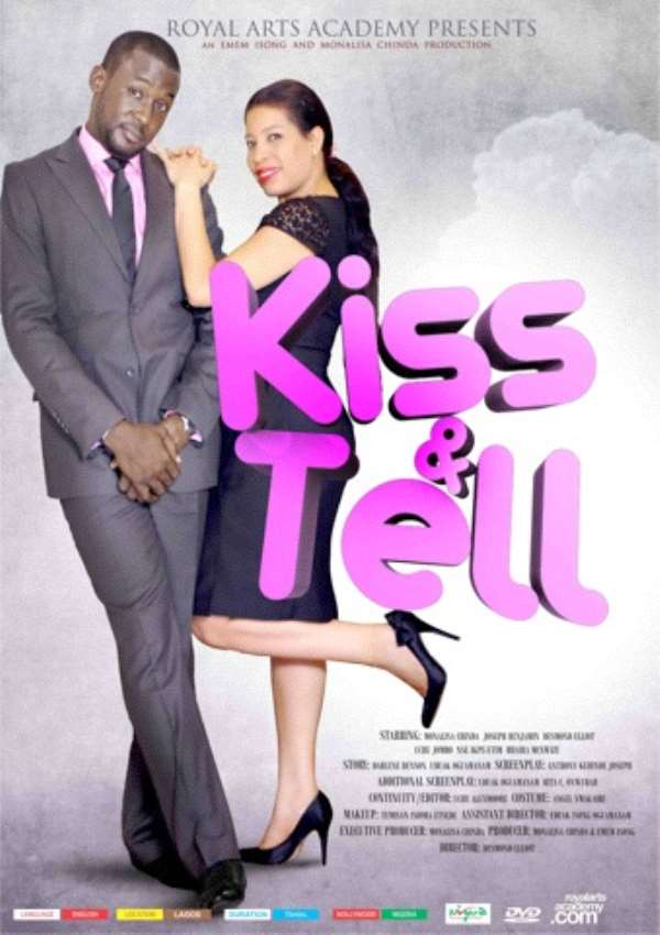 'KISS AND TELL' RANKED THE FIFTH MOST WATCHED NOLLYWOOD MOVIE TO HIT THE CINEMAS