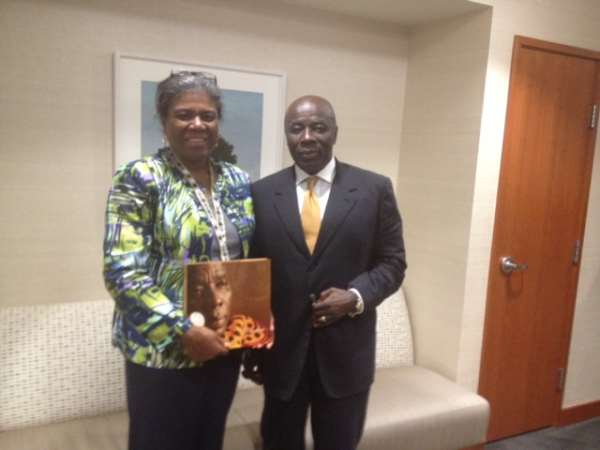 Okyenhene Lobbies US Gov't On Support For Mined Land Reclamation