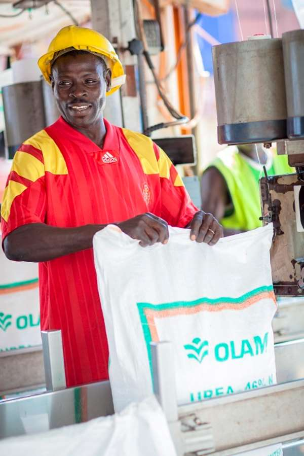OLAM imports 30,000MTS of fertilizer to support FSP