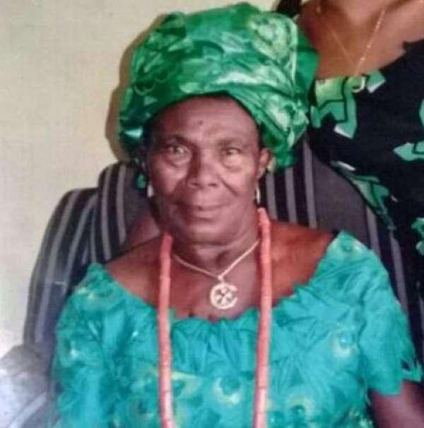 Omoni Oboli Mourns Her Grandmother