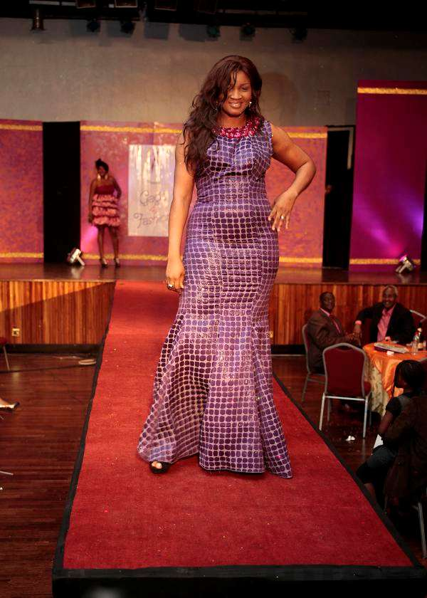 DAY BANKY W CROONED LADIES AT GAGA FOR FASHION
