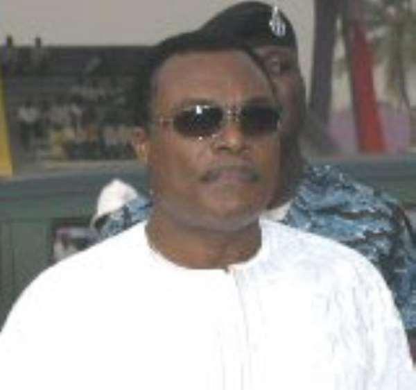 The late Major (rtd) Courage Quashigah
