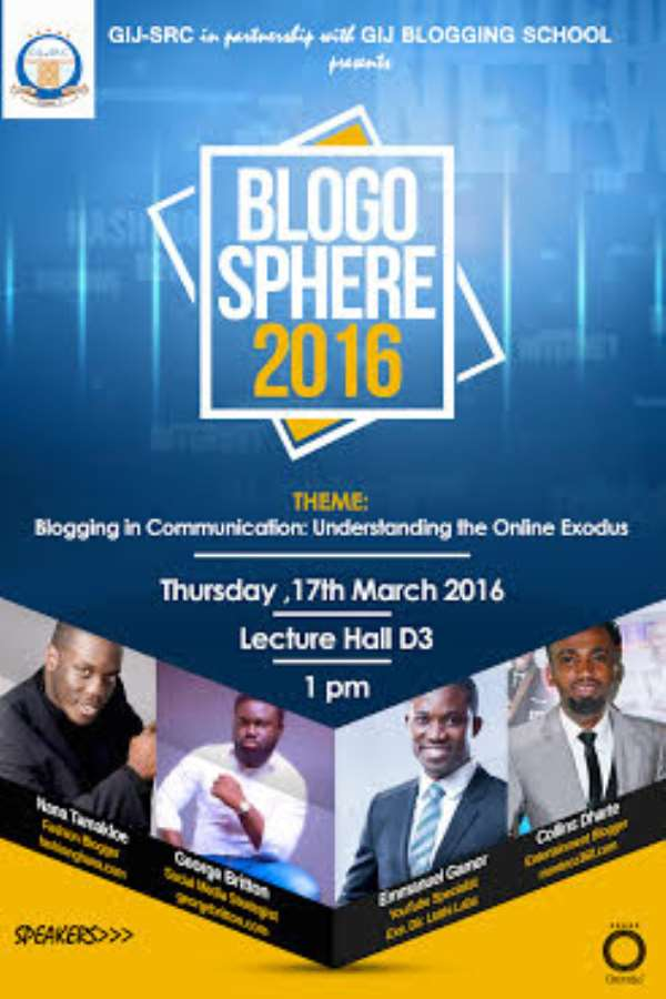 Ghana Institue Of Journalism To Host Ghanaian Bloggers