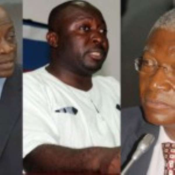 Seth Terkper – TO DROP? Baba Jamal – TO CHANGE? and Nii Osah Mill – To Drop?