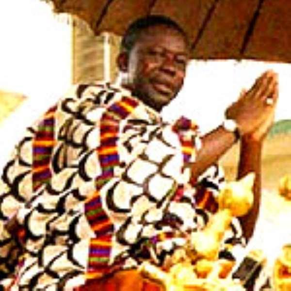 Otumfuo Osei Tutu II, the Asantehene