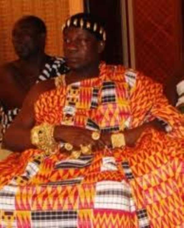 Three royals allegedly locked up Daasebre's palace