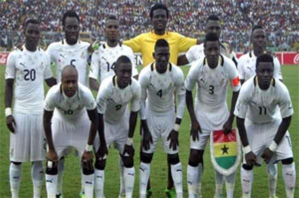 Ghana Play Costa Rica, Honduras