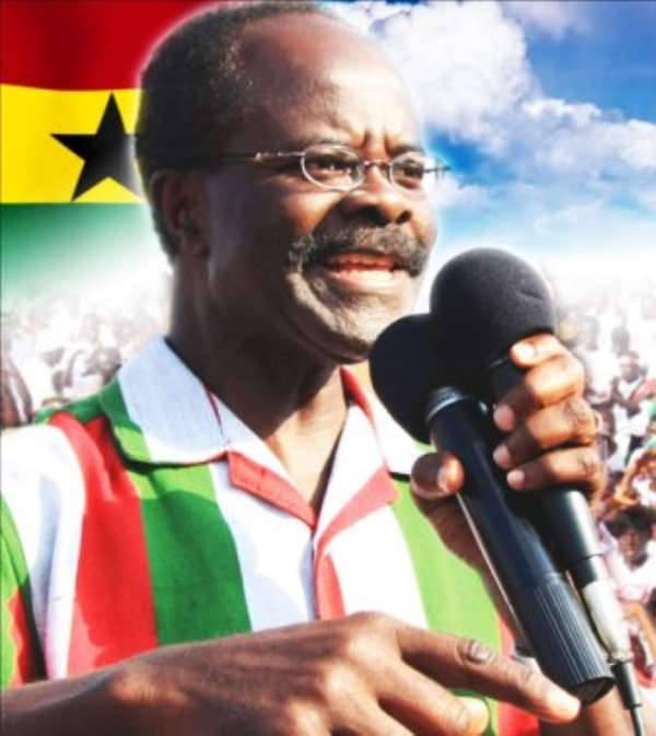 Nduom to contest 2012 elections, platform unclear