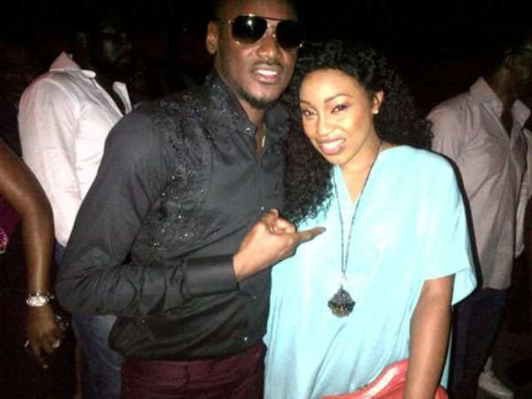 Genevieve, Rita Dominic, Segun Arinze Storm 2Face's Birthday Bash At Rumours Club [Pictures]