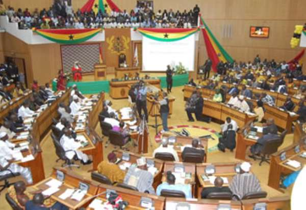 Parliament approves 2016 Appropriation Bill